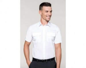 MEN'S SHORT-SLEEVED PILOT...