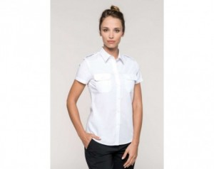 LADIES' SHORT-SLEEVED PILOT...