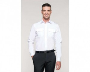 MEN'S LONG-SLEEVED PILOT SHIRT