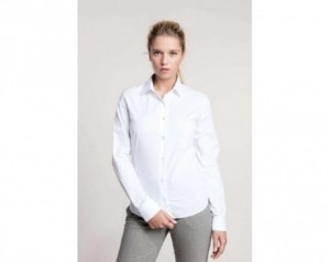 LADIES' LONG-SLEEVED COTTON...