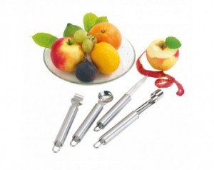 Fruit cutlery set FRUITY