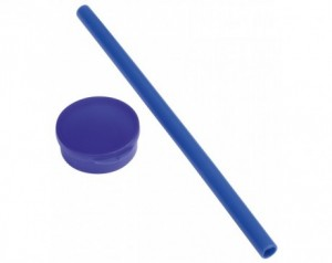 Silicone straw PRACTICALLY
