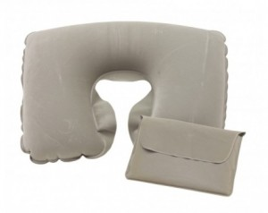 Inflatable travel pillow...