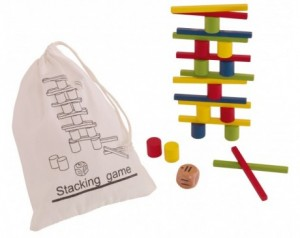 Puzzle game STACKING