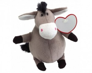 Plush donkey GORDO