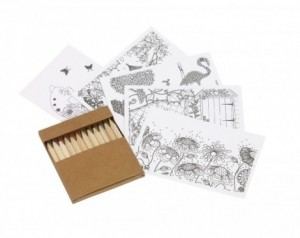 Colouring set MULTI COLOUR
