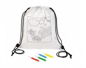 Backpack for colouring...