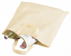 Cotton bag PURE with short...