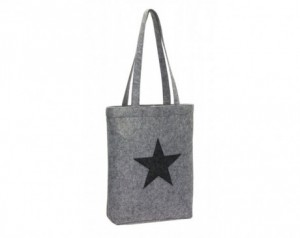 Felt shopper STAR DUST