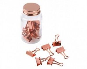 COPPER CLAMP binder clips...
