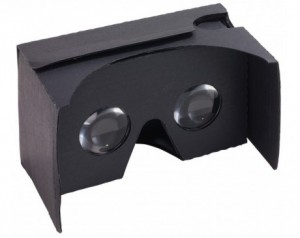 Virtual-Reality glasses...