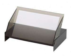 Business card stand...